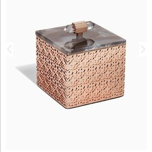 Kendra Scott Filigree Box Rose Gold & Agate NWT